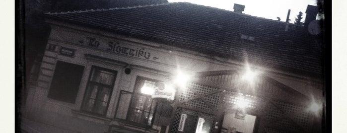 Na Slamníku is one of Navštiv 200 nejlepších míst v Praze.
