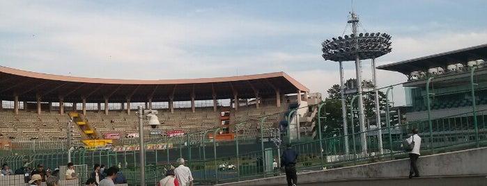 Tokyo Oval Keiokaku is one of สถานที่ที่บันทึกไว้ของ モリチャン.