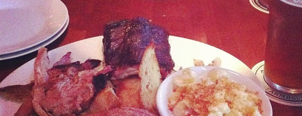 The Shaved Duck is one of St. Louis BBQ.