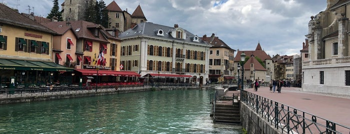 Vieille-ville d'Annecy is one of Alpen-Tips.