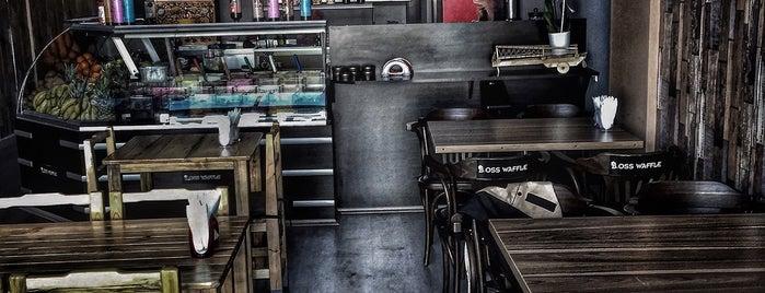 Boss Waffle is one of สถานที่ที่ Ali Emre ถูกใจ.