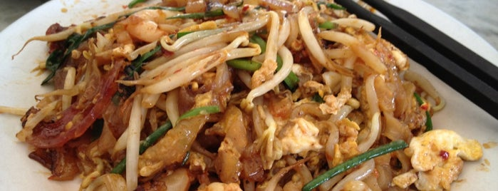 Siam Road Charcoal Char Koay Teow is one of Penang Food Guide.