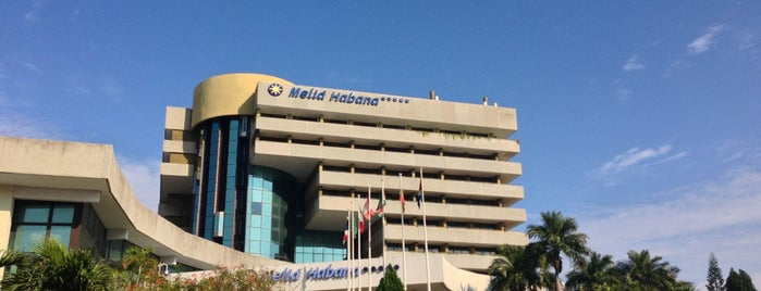 Hotel Meliá Habana is one of Anıl 님이 좋아한 장소.