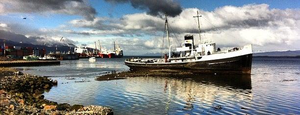 Bahía Encerrada is one of Patagonia (AR).