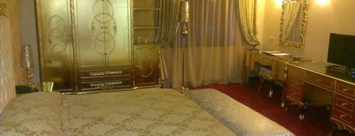 Hotel GOLD is one of Lugares favoritos de Yıldırım.