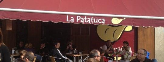 La Patatuca is one of Estrella Galicia fóra de Galicia.