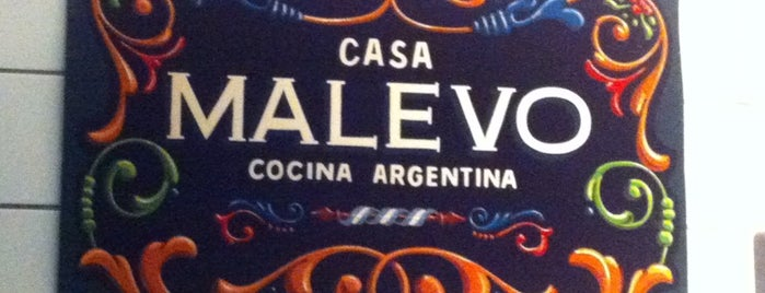 Casa Malevo is one of Latin America in London.