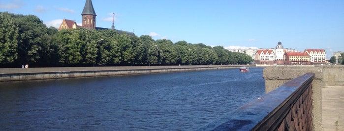 Набережная реки Преголя is one of A: сохраненные места.
