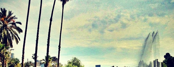 Echo Park Lake is one of LA Outings.