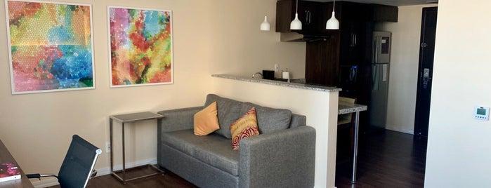 Residence Inn Rio de Janeiro Barra da Tijuca is one of สถานที่ที่ Carolina ถูกใจ.