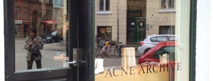 Acne Archive is one of Copenhagen.