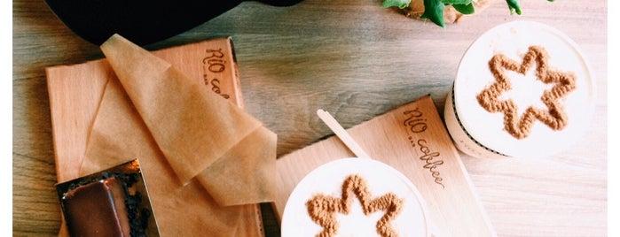 RIO coffee bar is one of Lugares guardados de Ayna.