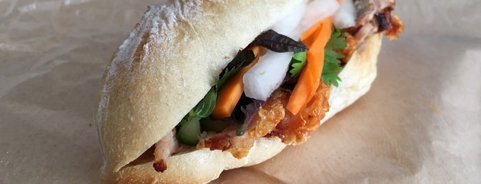 Banh Mi Stable is one of Orte zum Testen.