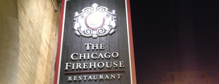 Chicago Firehouse Restaurant is one of Chicago Bucketlist.