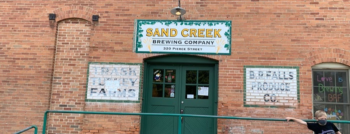 Sand Creek Brewing Company is one of Wisconsin Breweries.