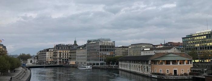 Terrasse du Pont de la Machine is one of Genève 🇨🇭.