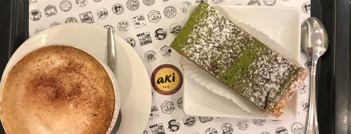 Aki Café is one of Guillaume 님이 좋아한 장소.