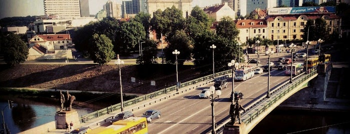 Žaliasis tiltas is one of Tempat yang Disukai Pelin.