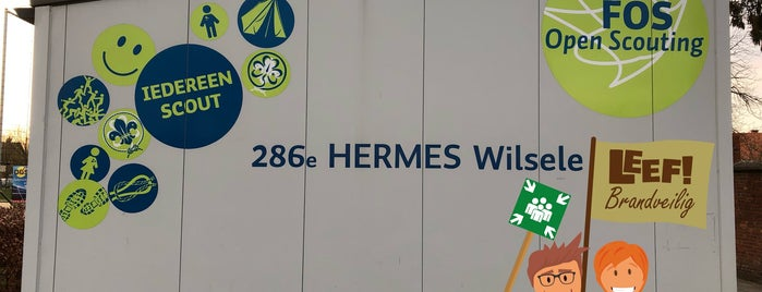 Scoutslokaal 286ᵉ FOS Hermes is one of FOS Open Scouting.