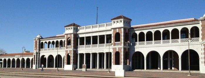 Barstow Harvey House is one of Historic Route 66.