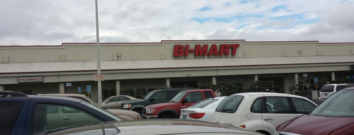 Bi-Mart is one of places.