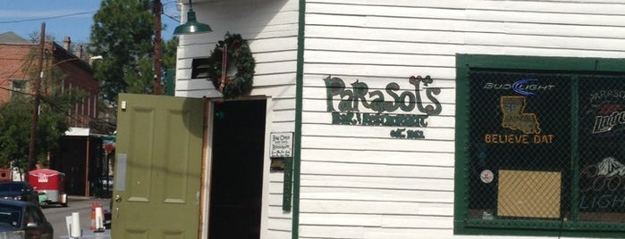 Parasol's is one of New Orleans To-Do List.