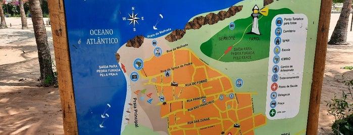 Jericoacora - CE is one of Tempat yang Disukai Rômulo.