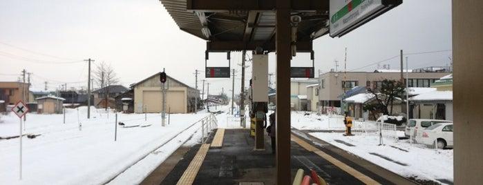 鹿角花輪駅 is one of JR 키타토호쿠지방역 (JR 北東北地方の駅).