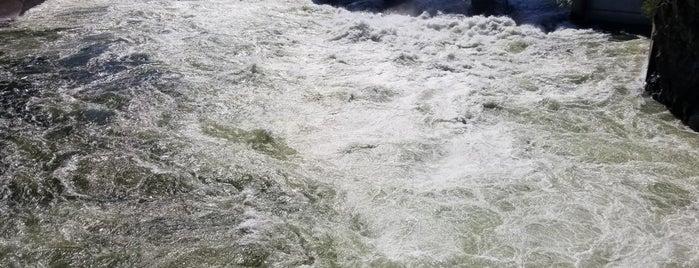 Upper Falls Diversion Dam is one of Lieux qui ont plu à Beba.
