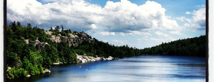 Minnewaska State Park Preserve is one of The Great Outdoors NY.