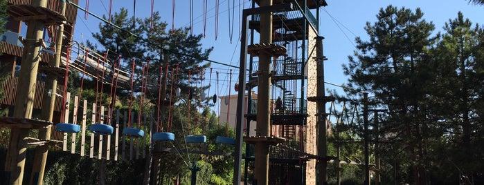 Bademlik Adventure Park is one of Lieux qui ont plu à Onur.