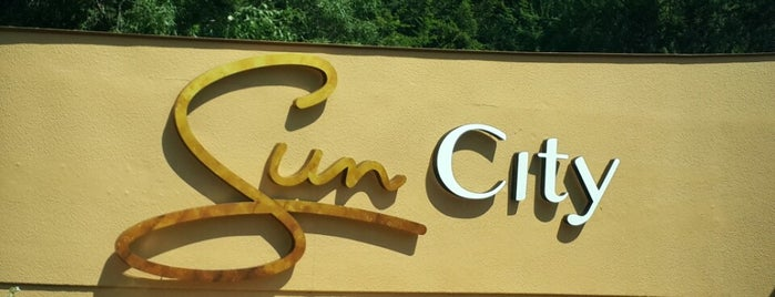 Sun City is one of World Sites.