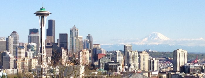 Kerry Park is one of Seattle Must Eats + Sights.
