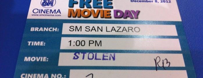 SM Cinema San Lazaro is one of Orte, die Cristina gefallen.