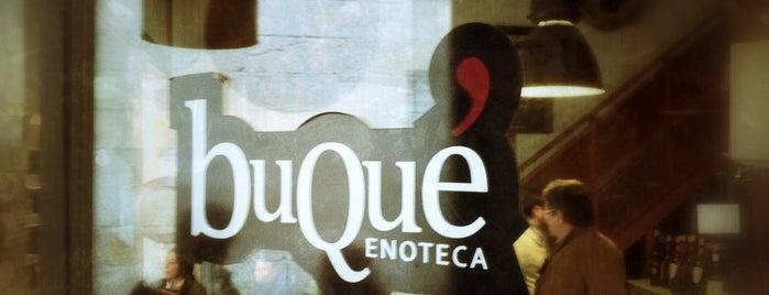 Vinoteca Buqué is one of Galicia.