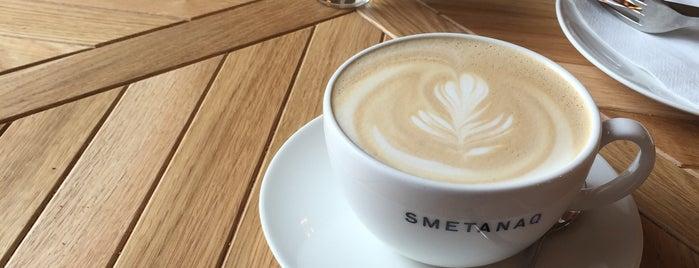 SmetanaQ is one of Kde si pochutnáte na kávě doubleshot?.