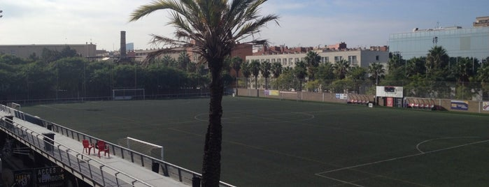 Club De Futbol Barceloneta is one of Instalaciones Deportivas / Esports.