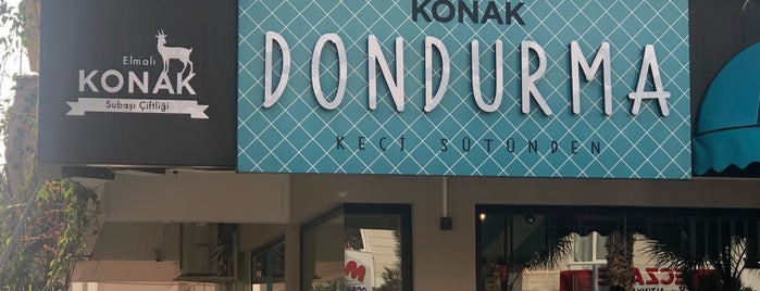 Konak Dondurma Konyaaltı is one of Top&Top.