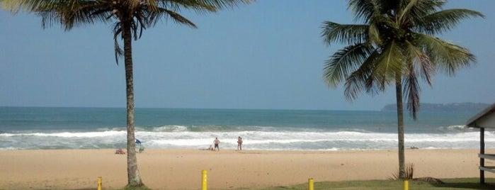 Praia Vermelha do Norte is one of Lugares favoritos de Ademir.