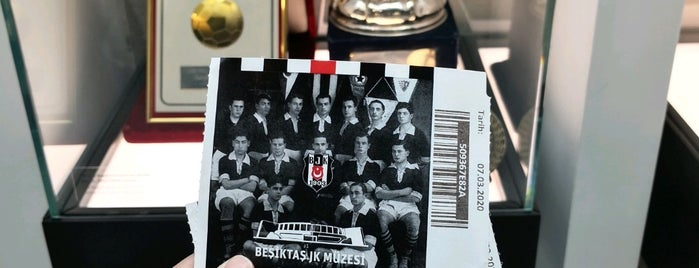 Beşiktaş JK Müzesi is one of Mega big things to do list.