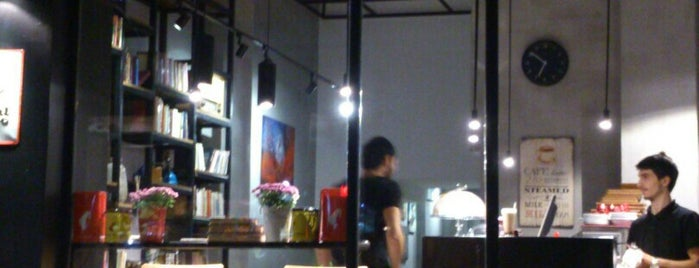 Page Cafe & Gallery is one of Tempat yang Disimpan Gnr.
