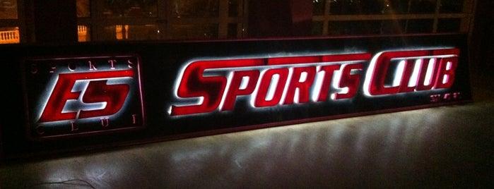ES SPORTS CLUB is one of Tempat yang Disukai Yaren.