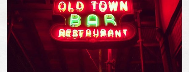Old Town Bar is one of Bars to try.