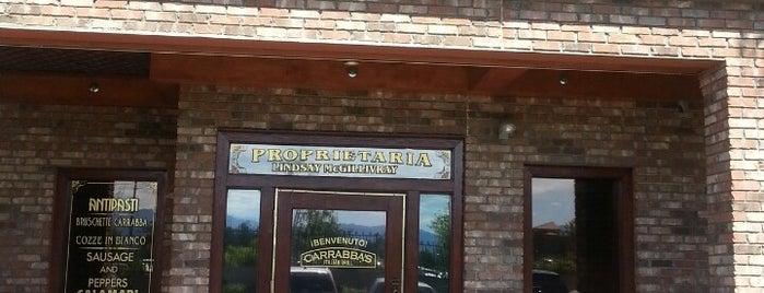 Carrabba's Italian Grill is one of Tempat yang Disukai Jimmie.