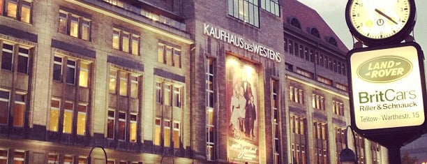 Kaufhaus des Westens (KaDeWe) is one of Berlin!.