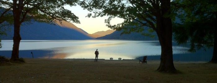 Lake Crescent Lodge is one of Off-Grid Birthday.