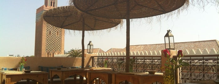Kasbah Cafe is one of Morocco.