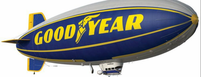 Goodyear HQ is one of Orte, die 🅱🅰🅱 gefallen.