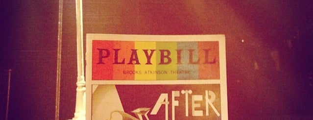 Brooks Atkinson Theatre is one of Easy Money Making Opportunity.