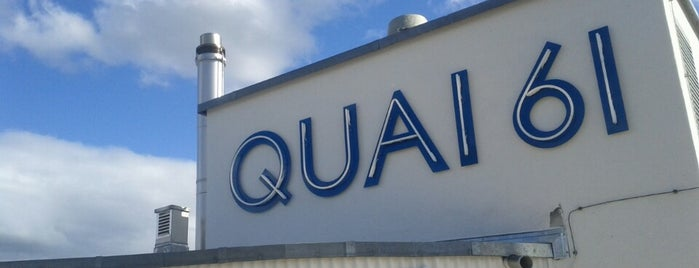 Quai 61 is one of Zürich.